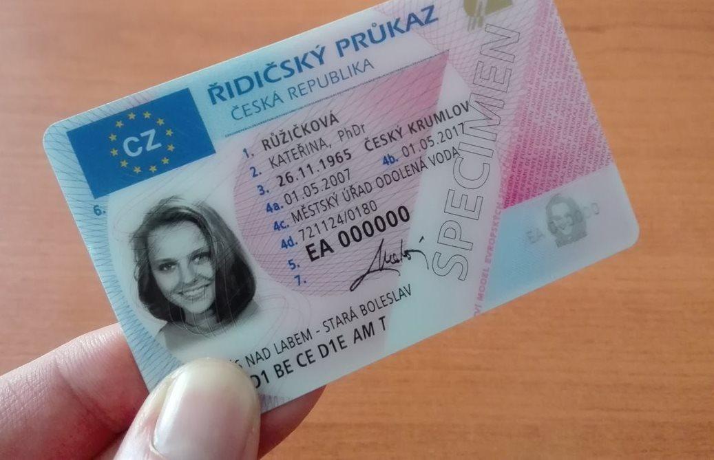 Řidičský průkaz .- výměna
