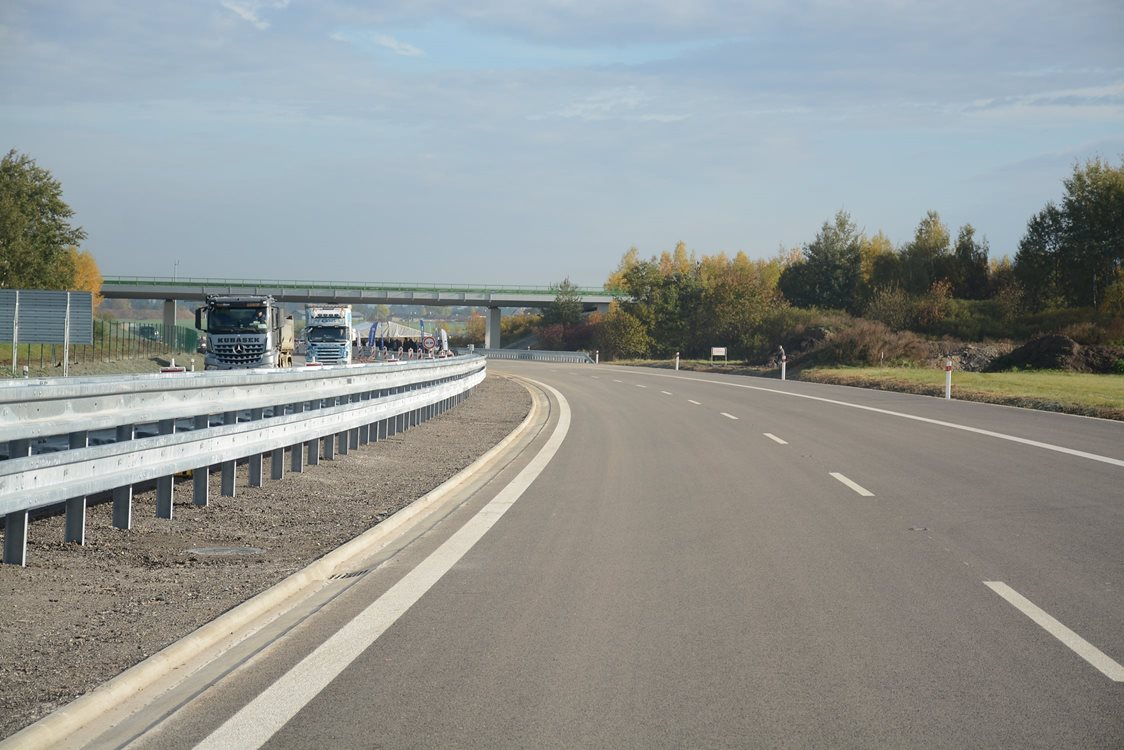 The D3 motorway will see the most advanced stage of progress, because almost 40 km will be under con