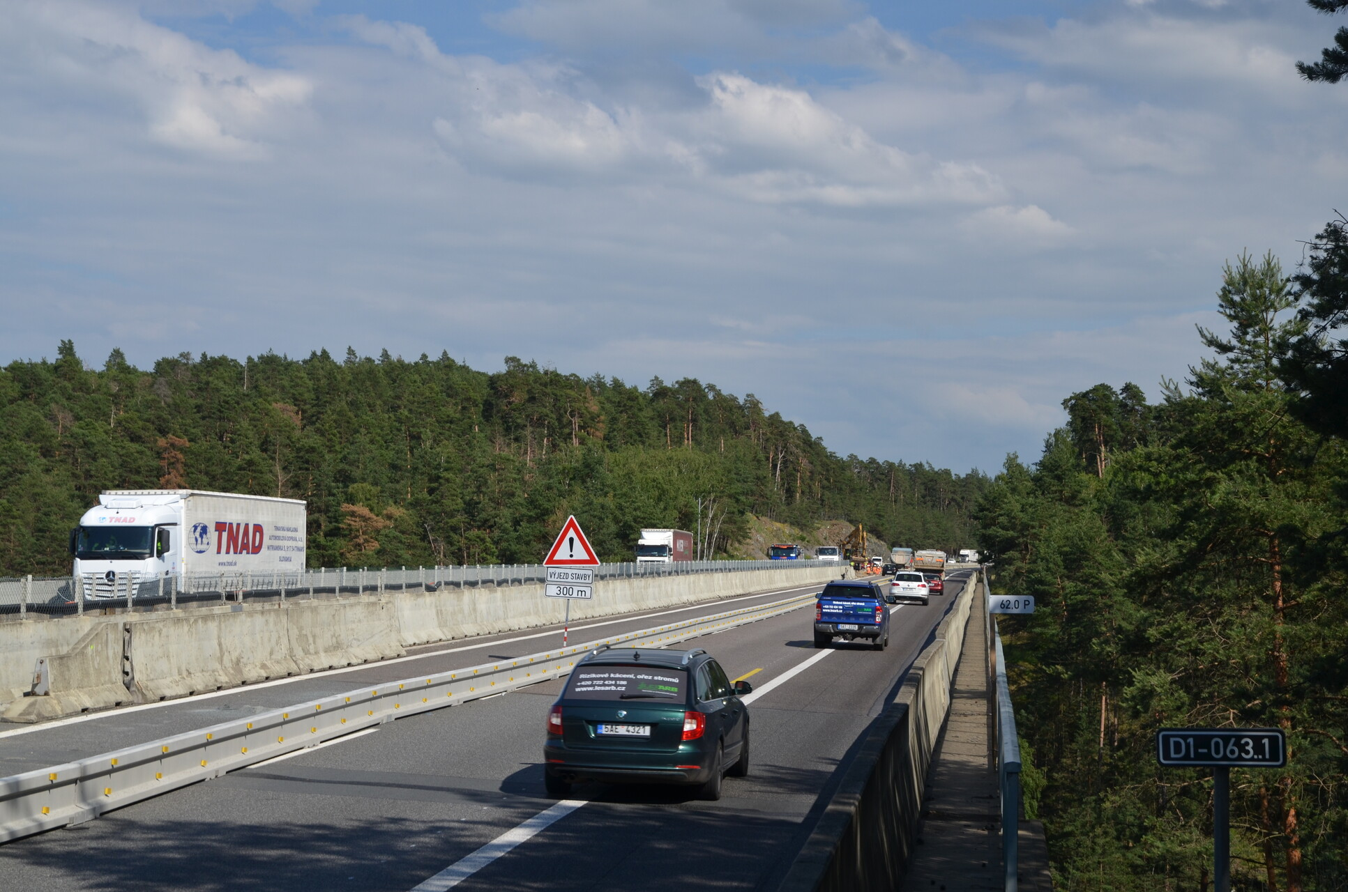 New D1: The first section measurement of speed of this year oversees traffic safety