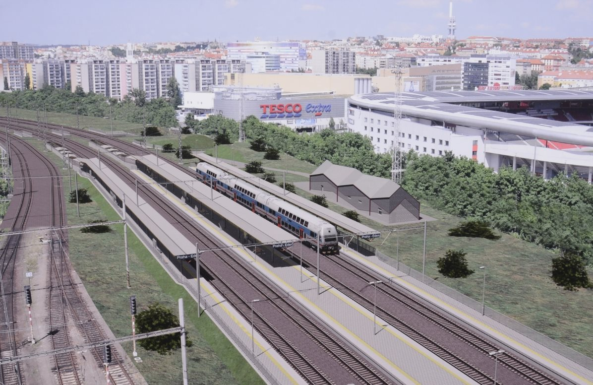 Two new stations will be built in Prague – Eden and Zahradní Město (Garden City)