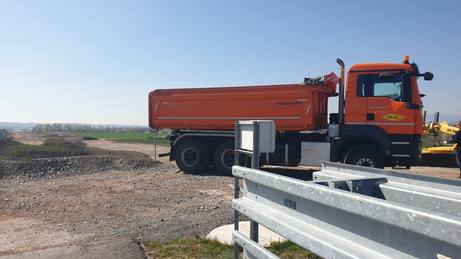 Minister Ťok kick-started the construction of the second section of České Budějovice bypass