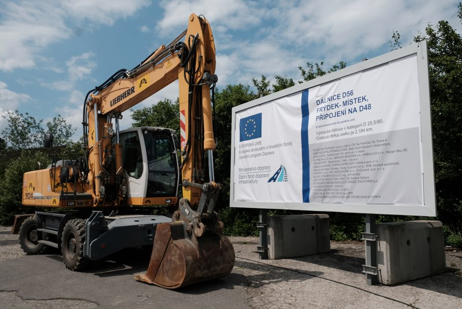 For the inhabitants of Frýdek-Místek the construction of a bypass has begun