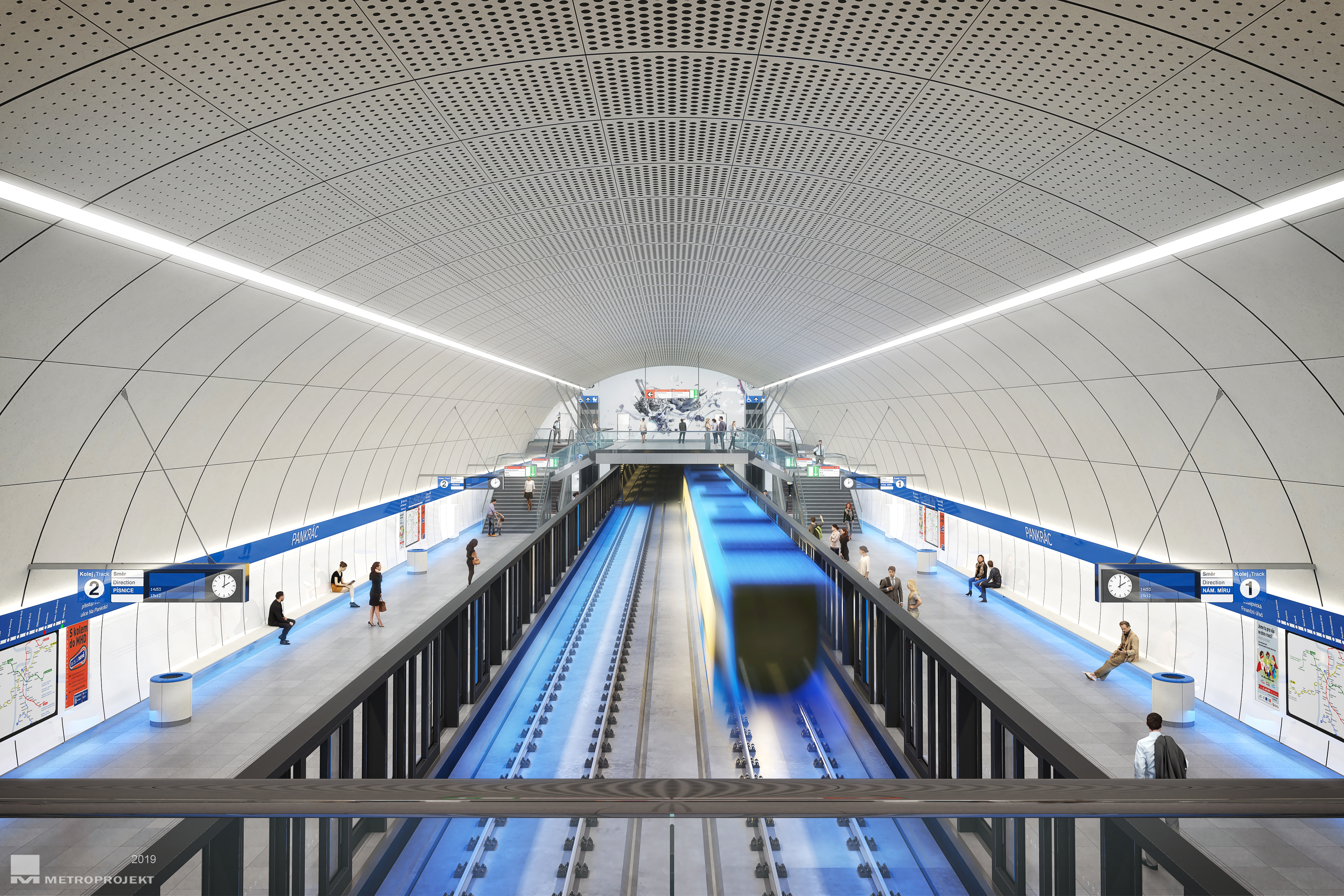 Mění se stavební a technický řád drah, pomůže budování automatického metra
