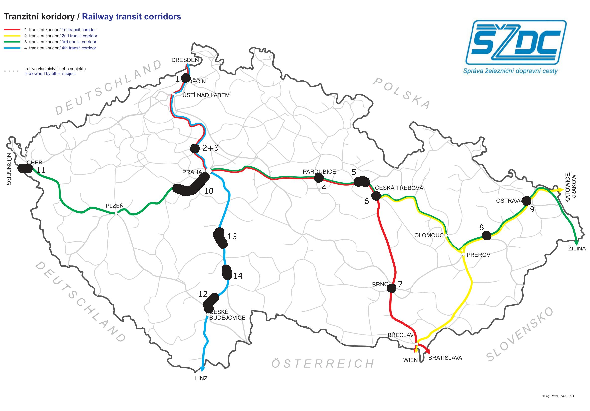 Ministerstvo dopravy ČR - Tranzitní železniční koridory a8ea734d69bc6