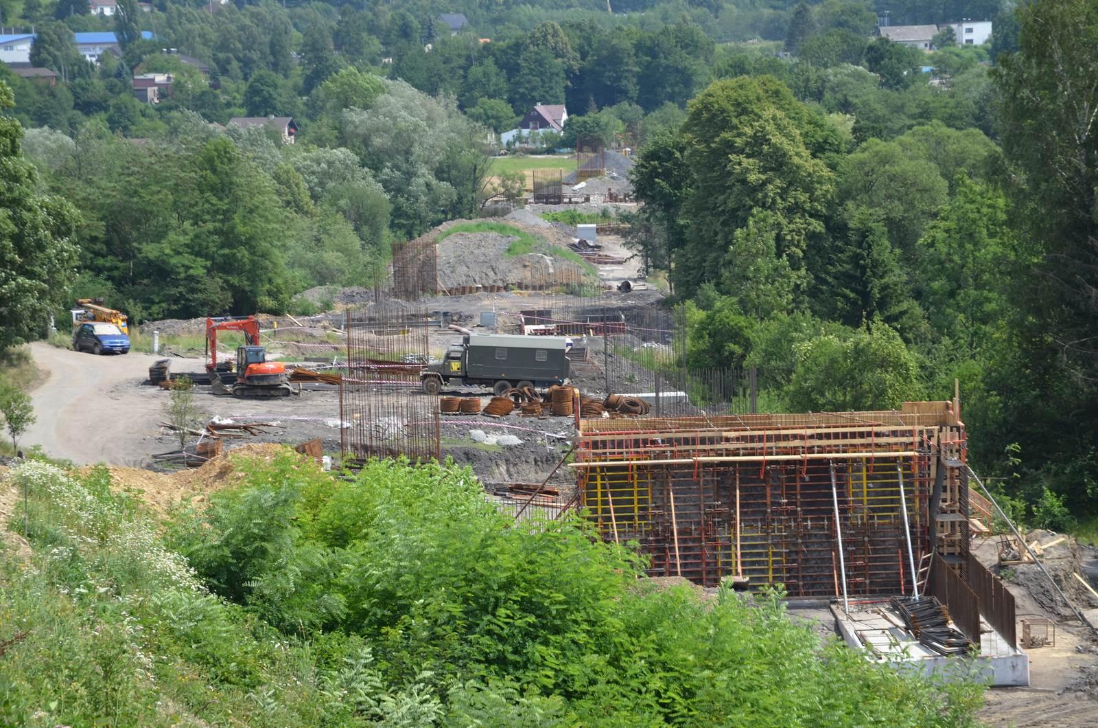 Stavby silnice I/11 Oldřichovice - Bystřice