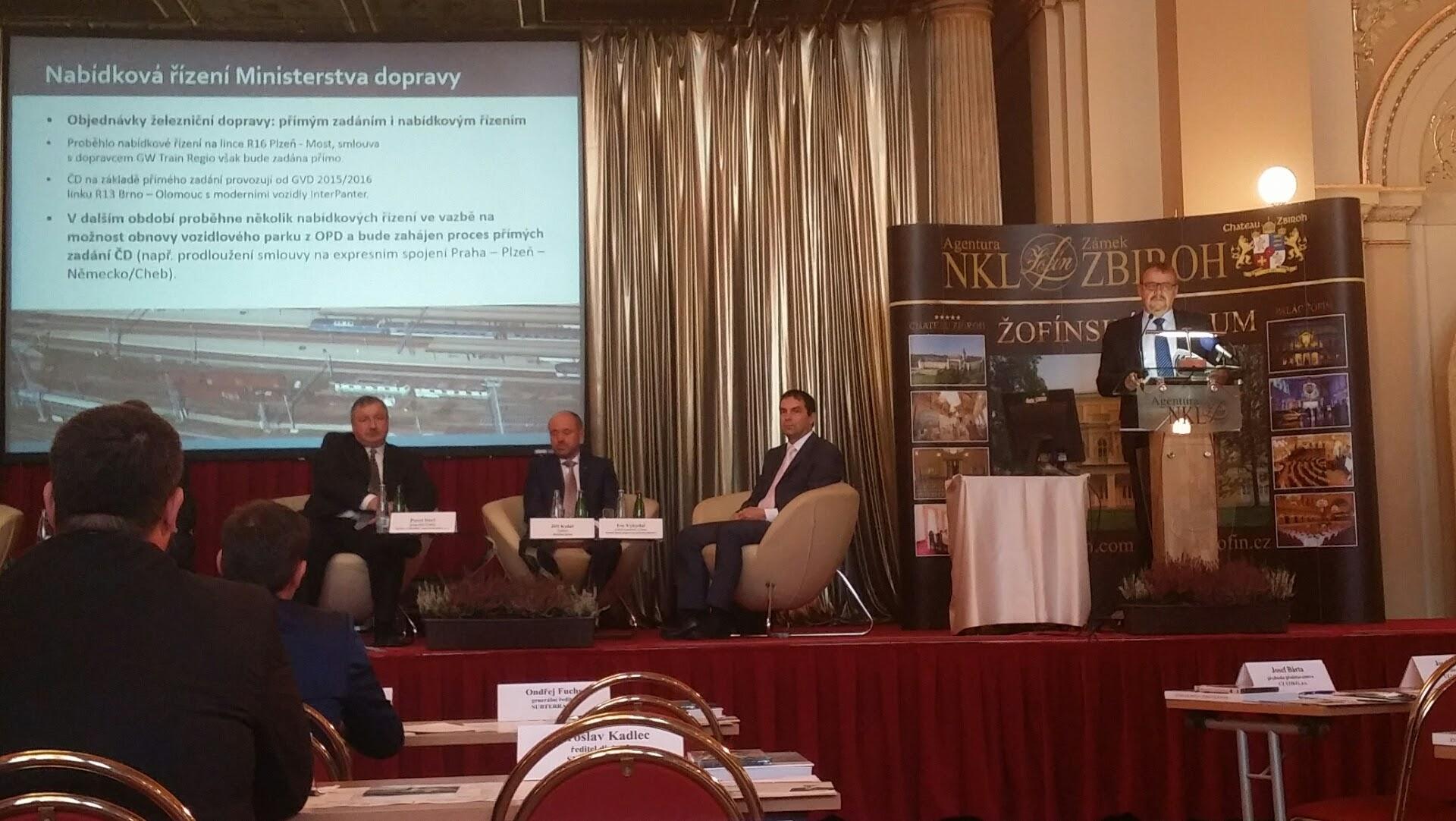 Ministr dopravy Dan Ťok na Žofínském fóru