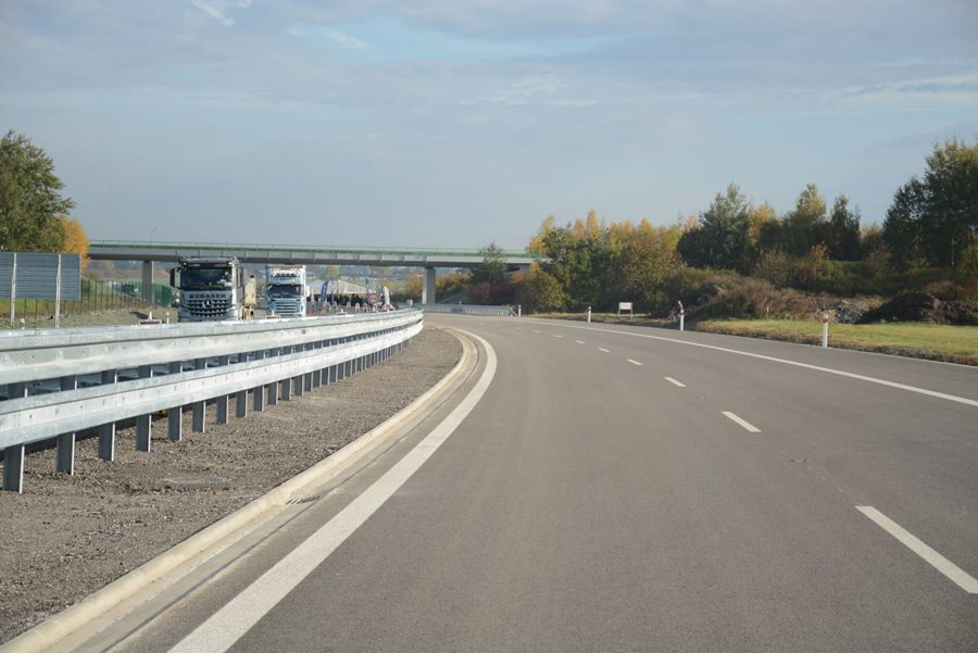 A section of the D3 motorway between Veselí nad Lužnicí and Bošilec has been under construction for