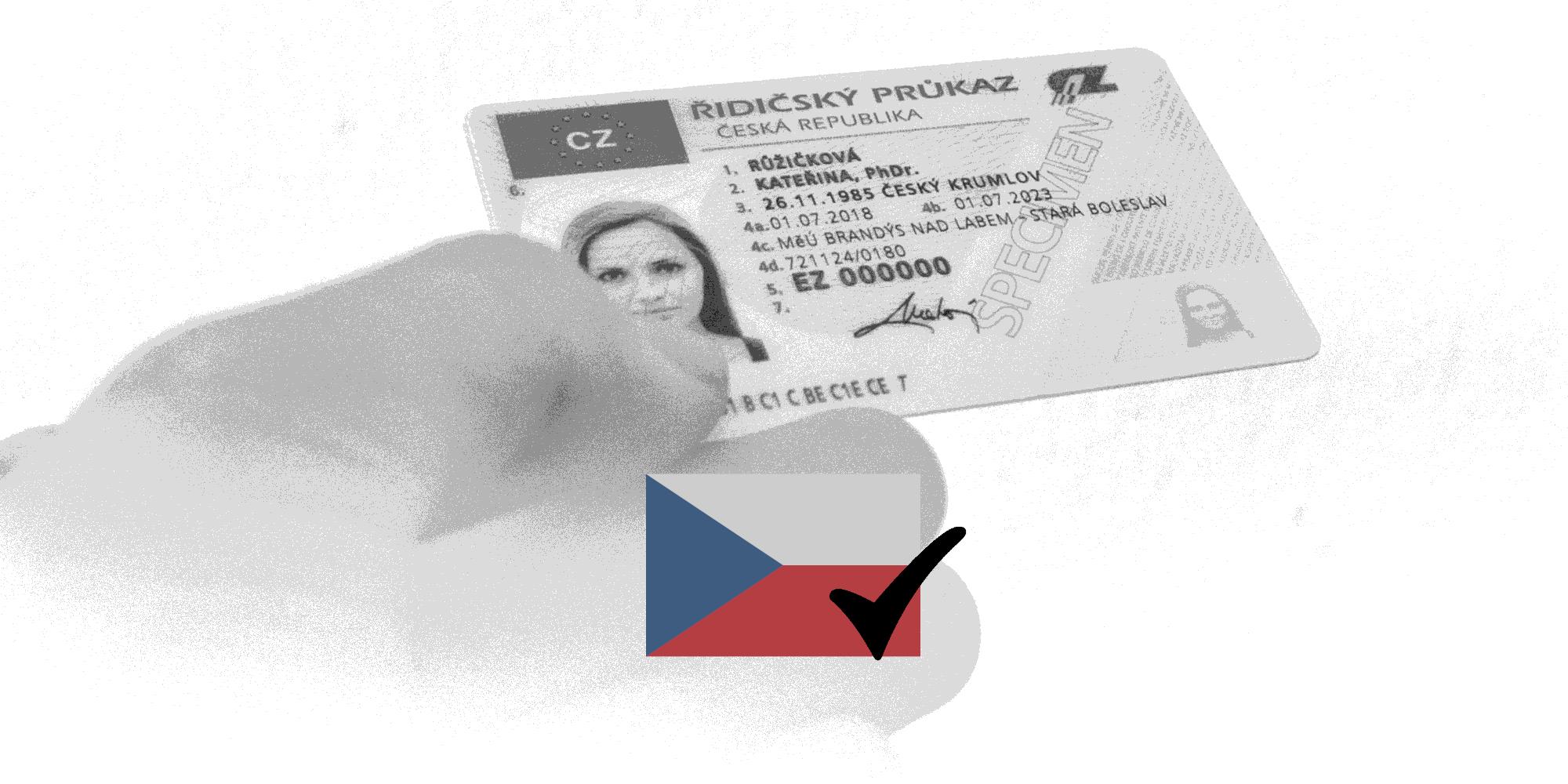 Vydání českého řidičského průkazu