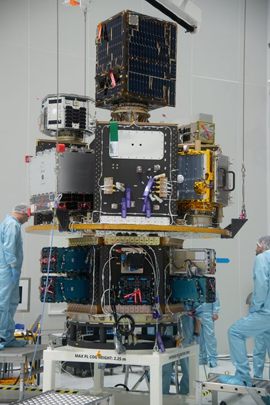 A new device, made by Czech companies, for launching satellites to orbit is on its way to space